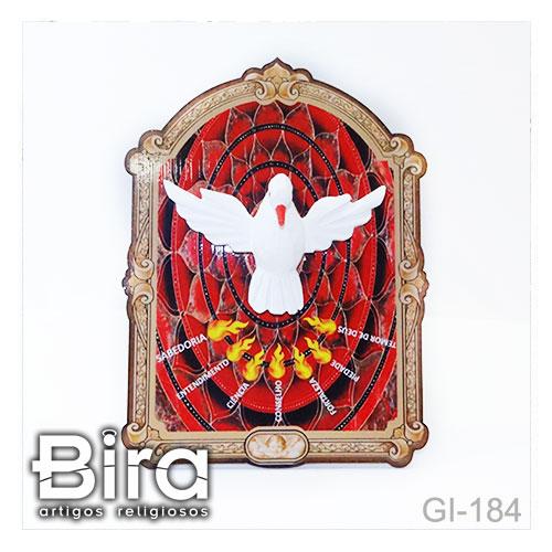 quadro mesa divino espirito santo madeira