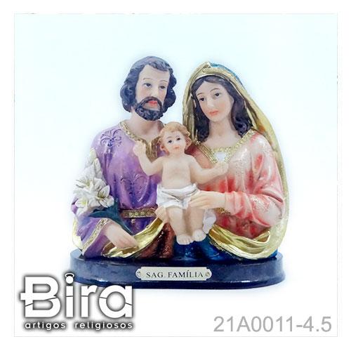 busto sagrada familia resina 11cm