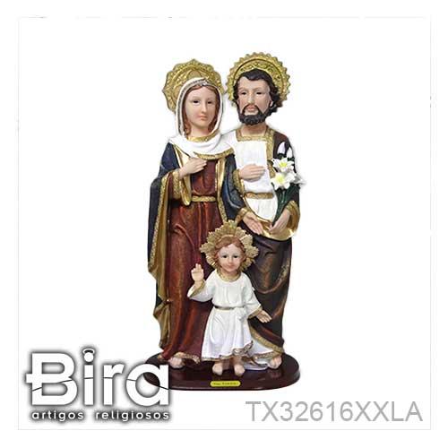 sagrada familia 50cm resina