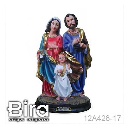 sagrada familia, santos. resina, imagens