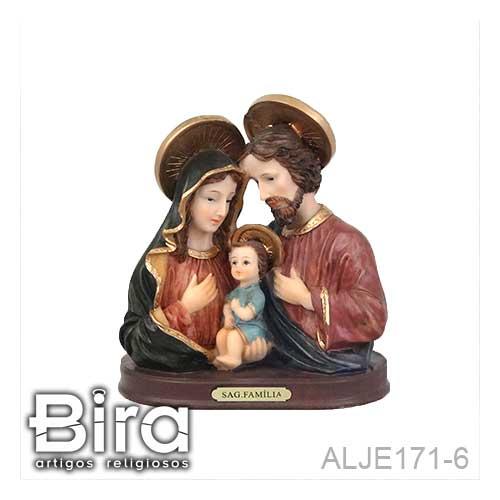 busto, sagrada familia, resina, imagem