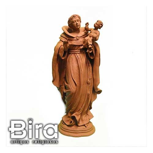 santo antonio, terracota, artesanal