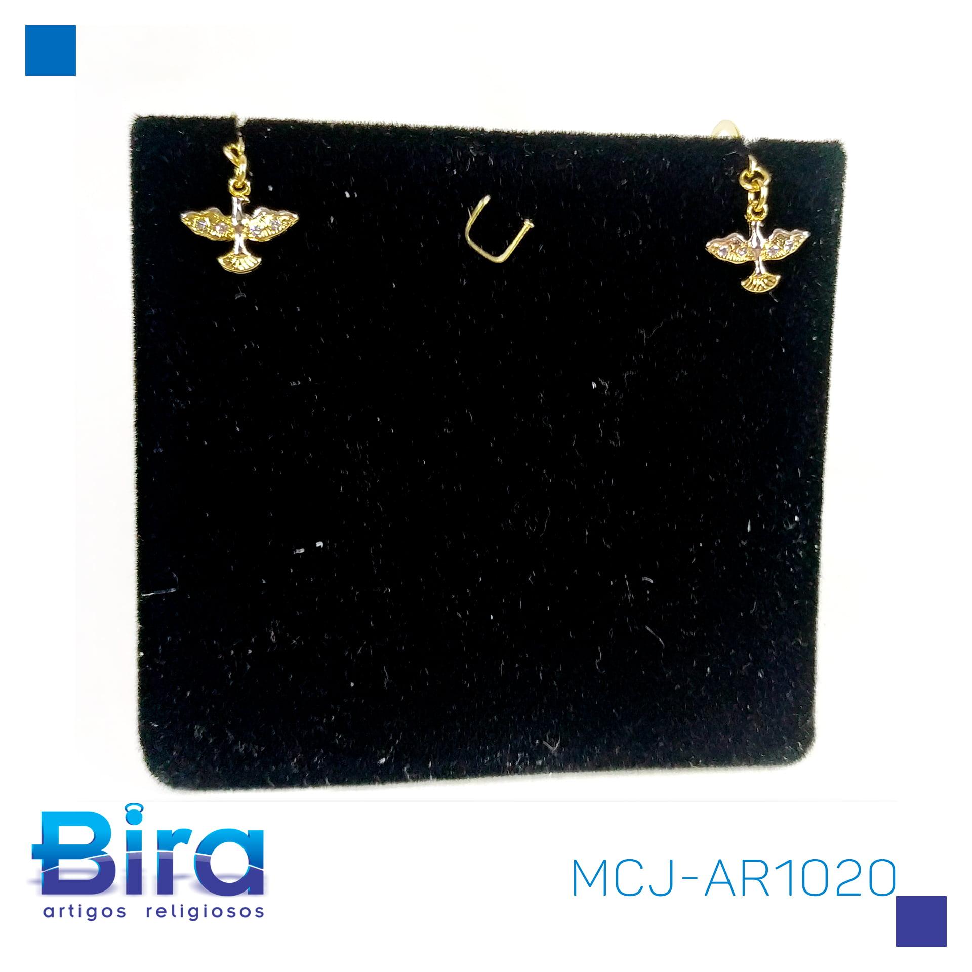 Bira Artigos Religiosos - BRINCO NS C/STRASS NV - CÓD. MCJ-AR1020