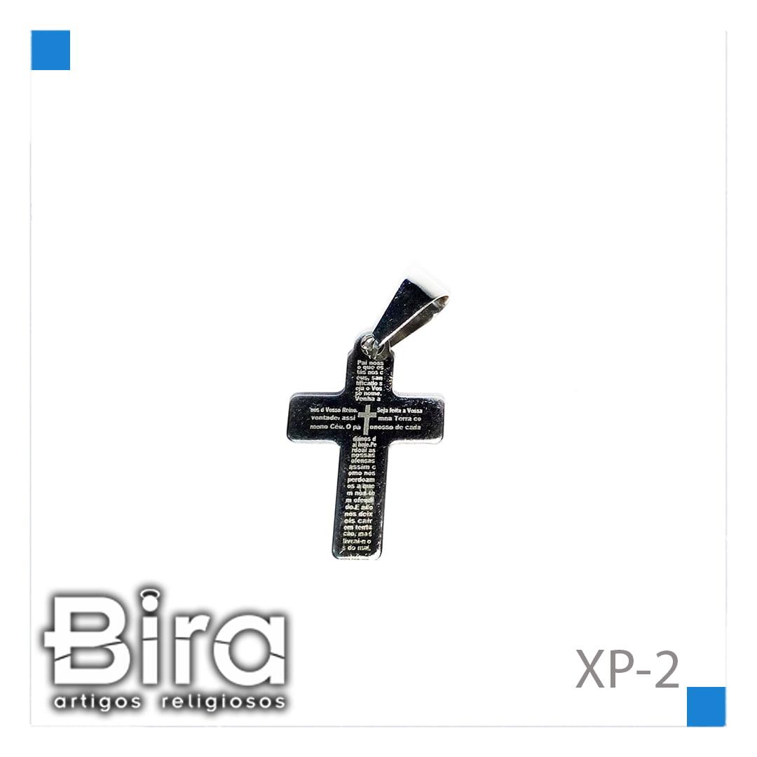 Bira Artigos Religiosos - PINGENTE CRUZ  INOX - CÓD. XP-2