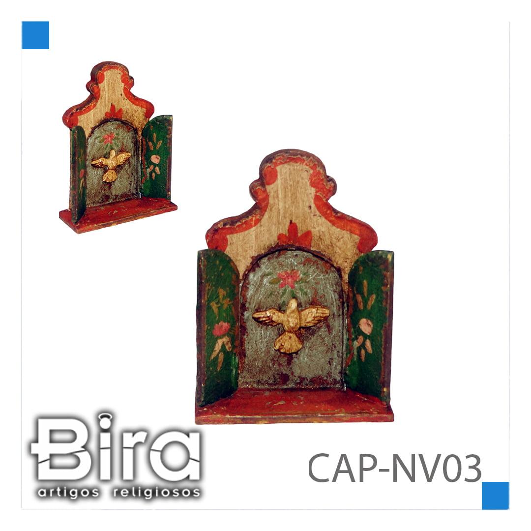 CAPELA 10 CM  COM DIVINO - CÓD. CAP-NV03