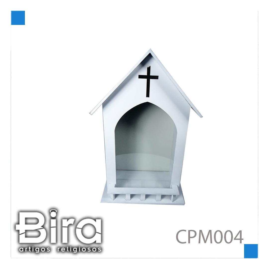 Bira Artigos Religiosos - CAPELA Nº MOG OU BRANCA P/ SANTO DE 40 CM - CÓD. CPM004