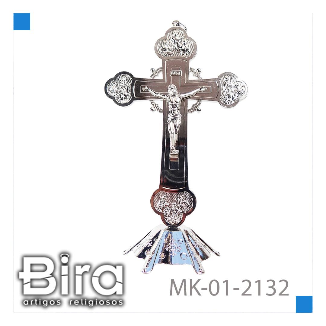 Bira Artigos Religiosos - CRUCIFIXO  DE  METAL 20CM - CÓD. MK-01-2132