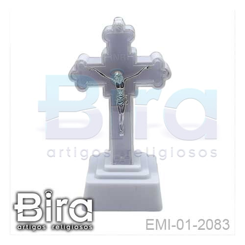 crucifixo, plastico, led