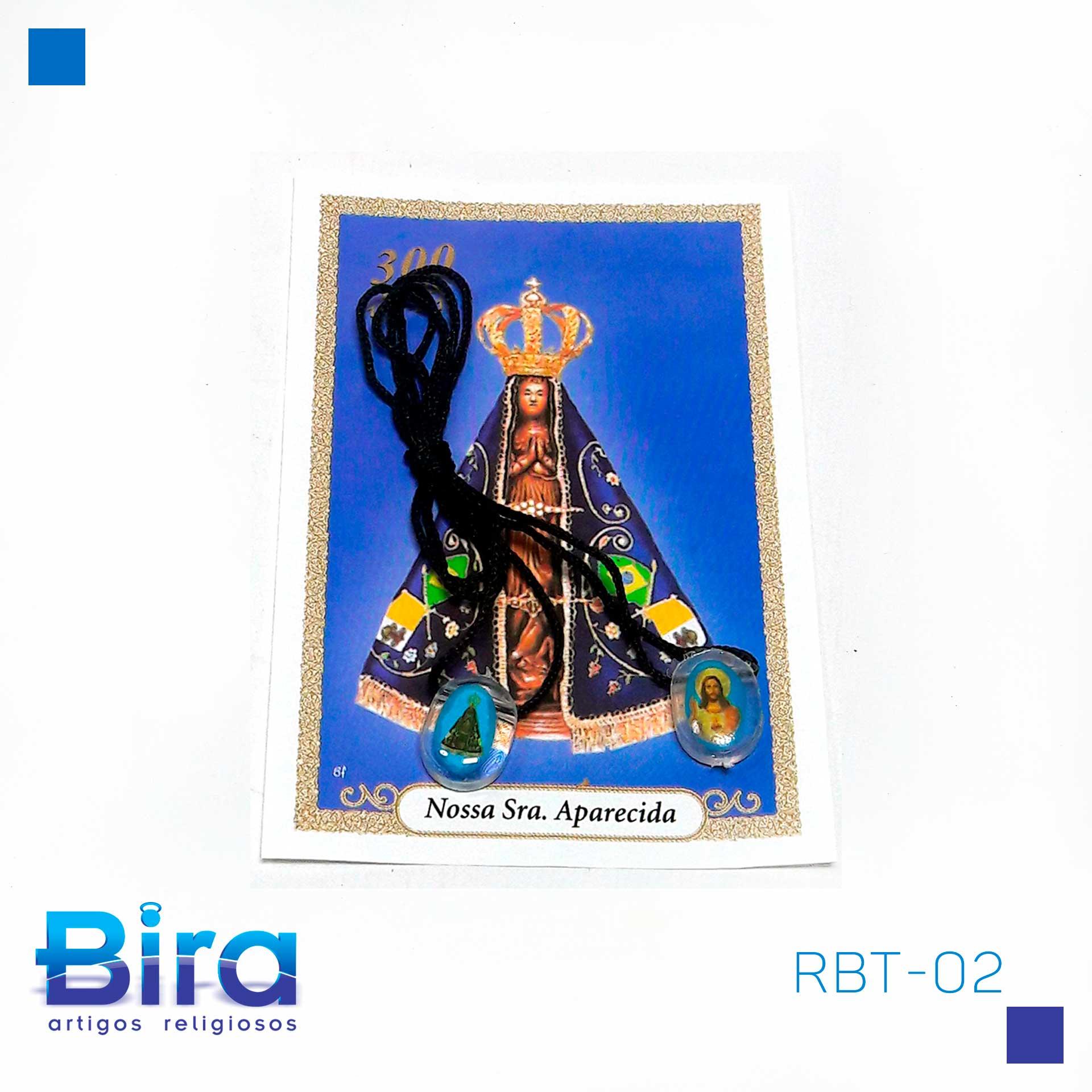 Bira Artigos Religiosos - ESCAPULARIO SANTOS DIVERSOS NV C/12 UNIDADES - CÓD. RBT-02