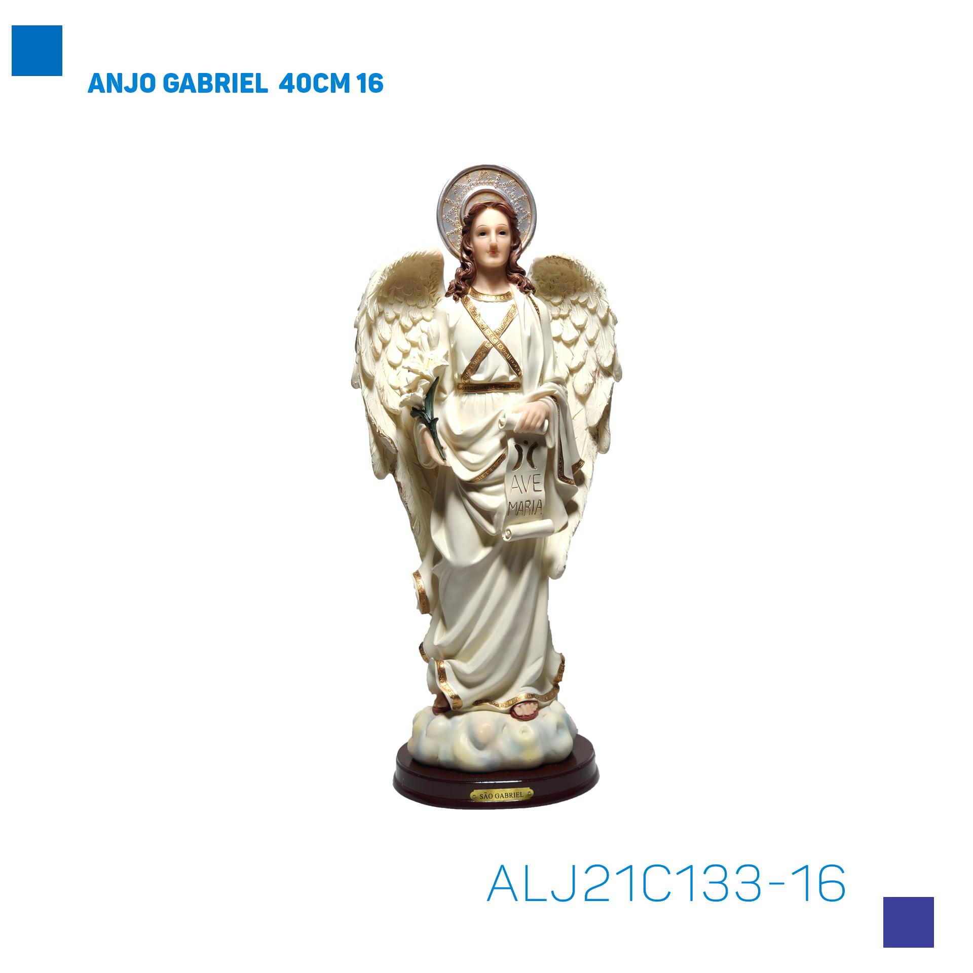 Bira Artigos Religiosos - ANJO GABRIEL 40CM - Cód. ALJ21C133-16