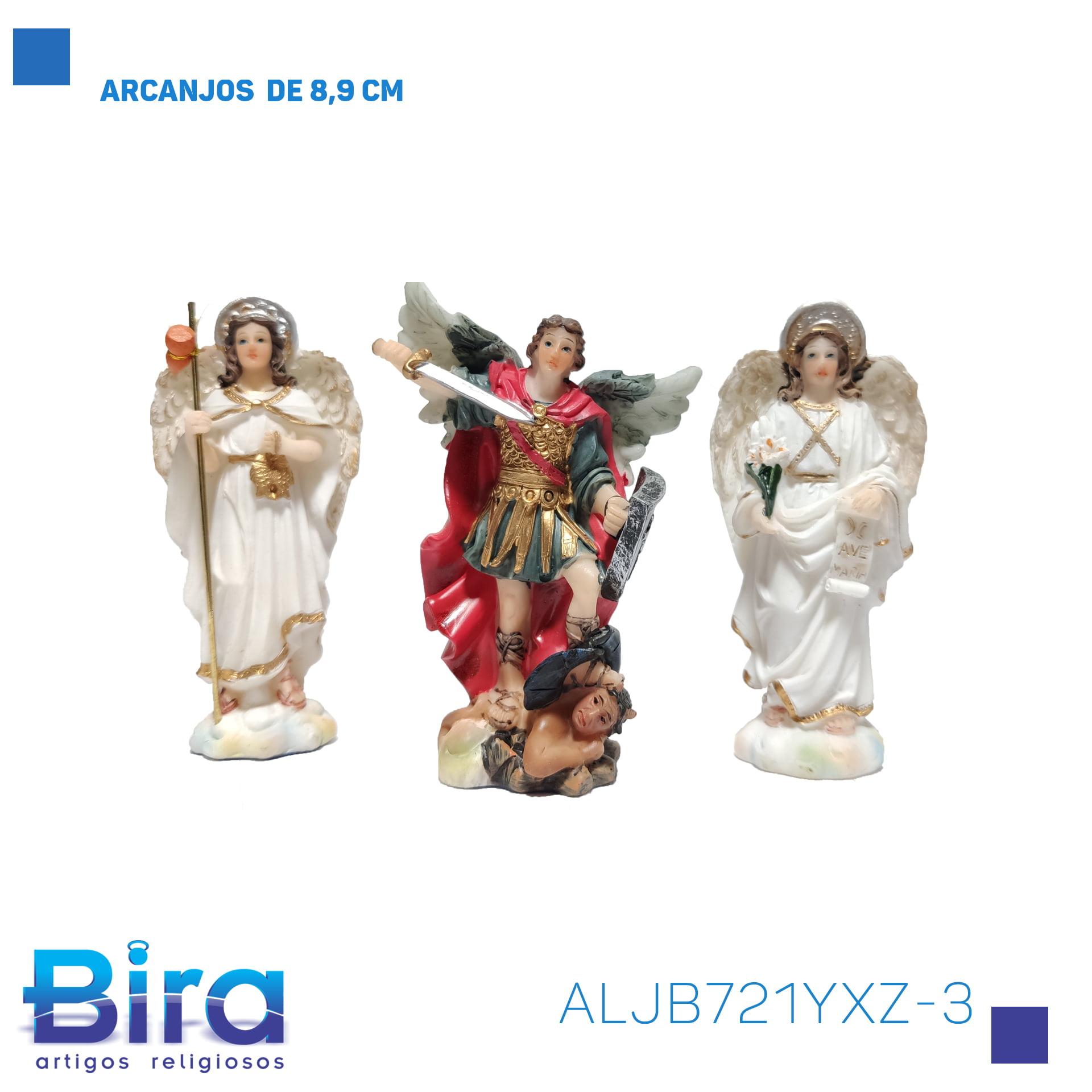 Bira Artigos Religiosos - ARCANJOS  DE 8,9 CM Cód. ALJB721YXZ-3