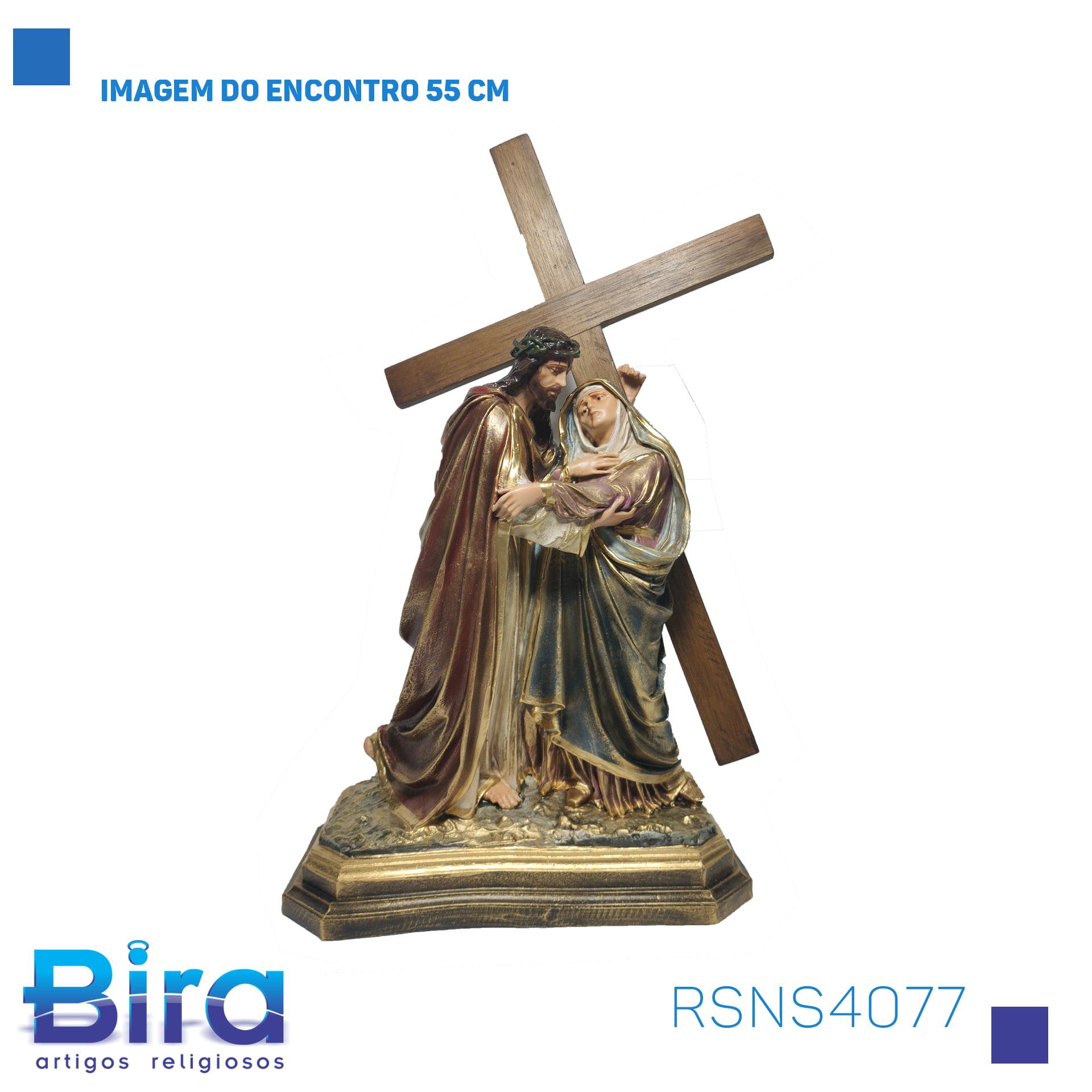 Bira Artigos Religiosos - IMAGEM DO ENCONTRO 55 CM Cód. RSNS4077
