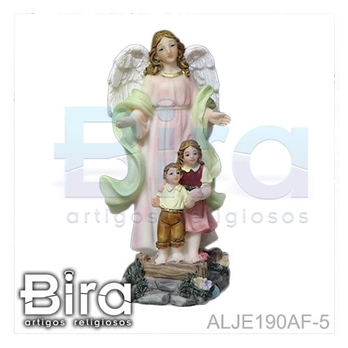 anjo da guarda, imagens, santos, resina