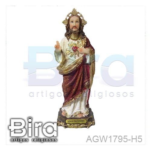 sagrado coracao de jesus, santos, imagens, resina