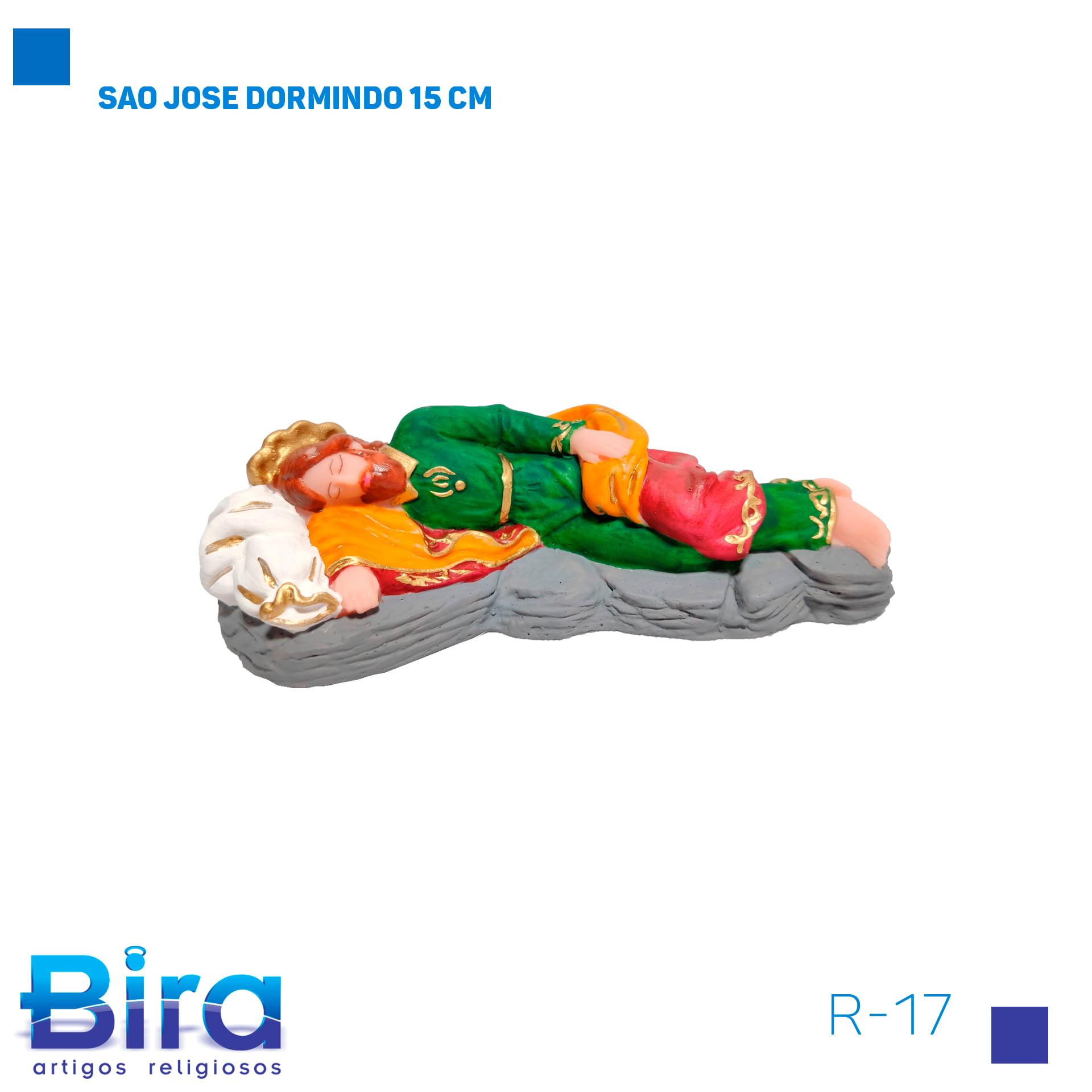 Bira Artigos Religiosos - SAO JOSE DORMINDO 15 CM COD. R-17
