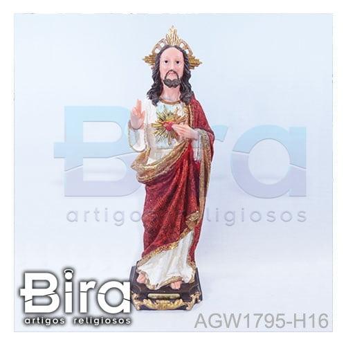 sagrado coracao jesus 42cm