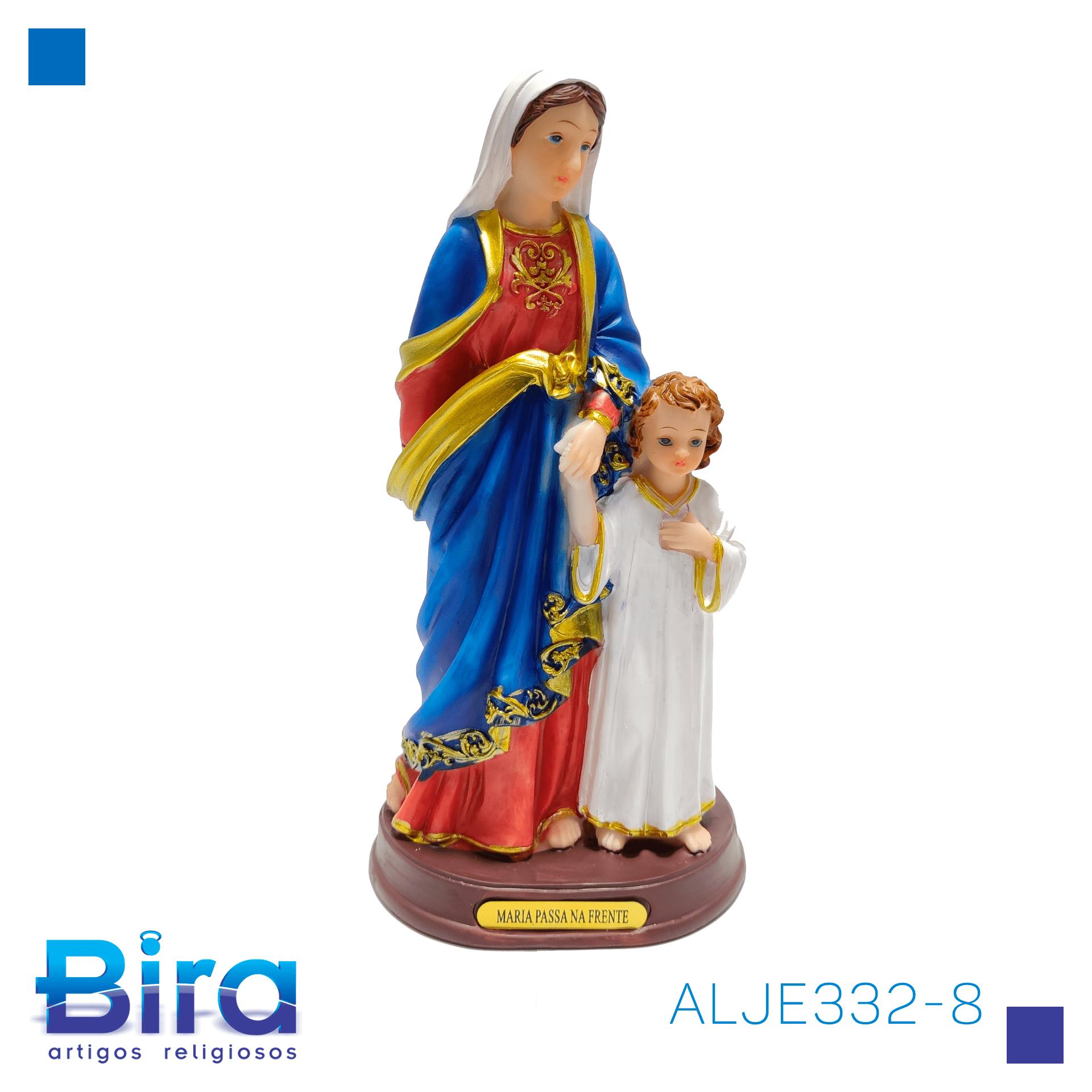 Bira Artigos Religiosos - MARIA PASSA NA FRENTE 20,5 CM - Cód. ALJE332-8