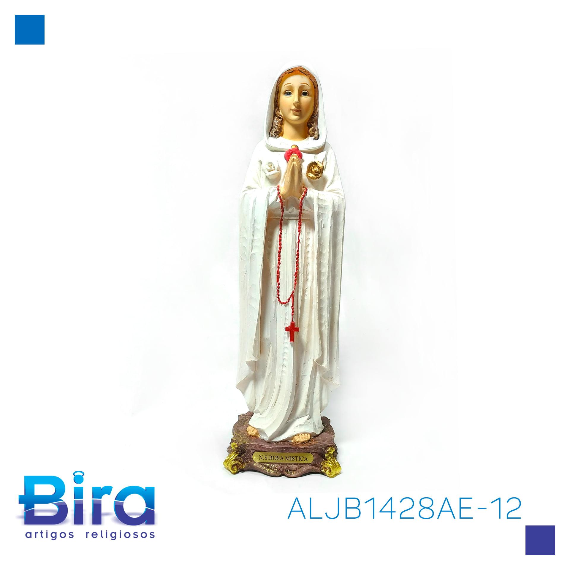 Bira Artigos Religiosos - NOSSA SENHORA DA ROSA MISTICA DE  32 CM - CÓD. ALJB1428AE-12