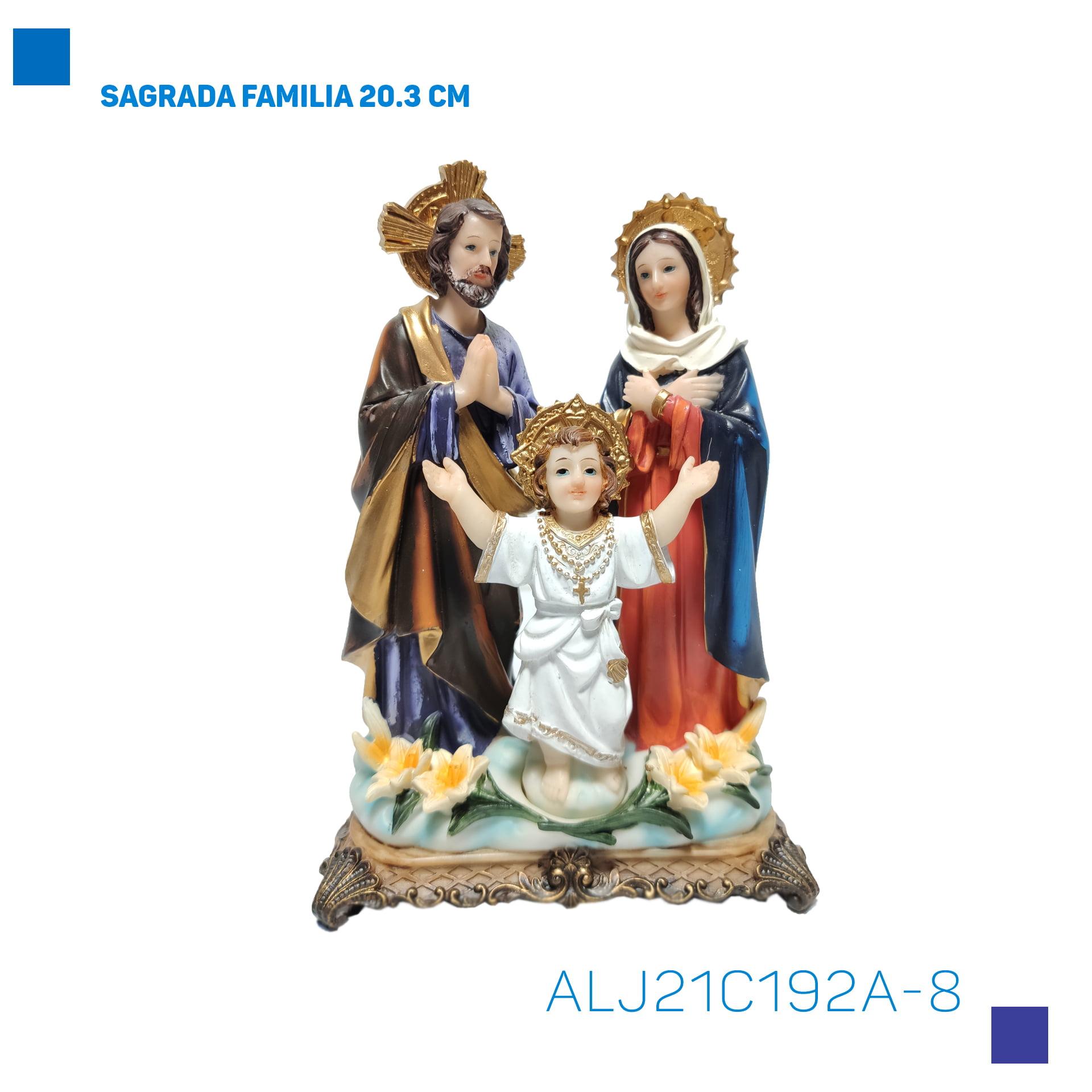 Bira Artigos Religiosos - SAGRADA FAMILIA 20.3 CM - Cód. ALJ21C192A-8