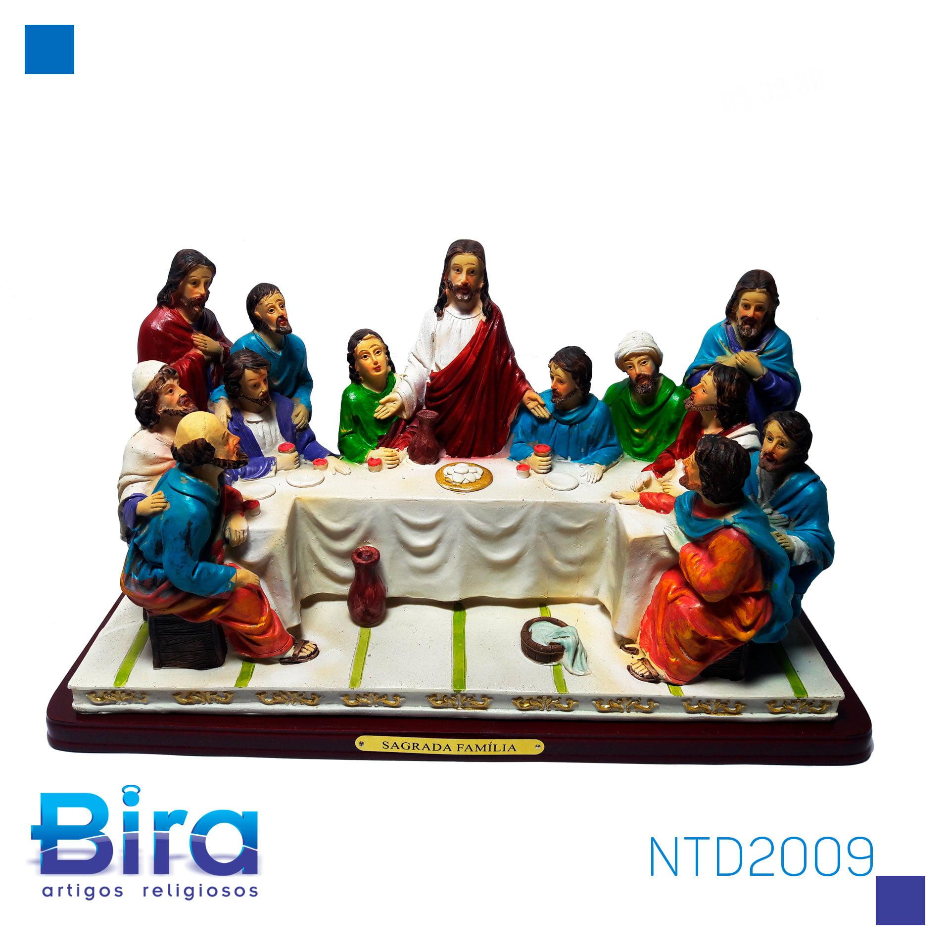 Bira Artigos Religiosos - SANTA CEIA  DE   32 X 17 CM - CÓD. NTD2009
