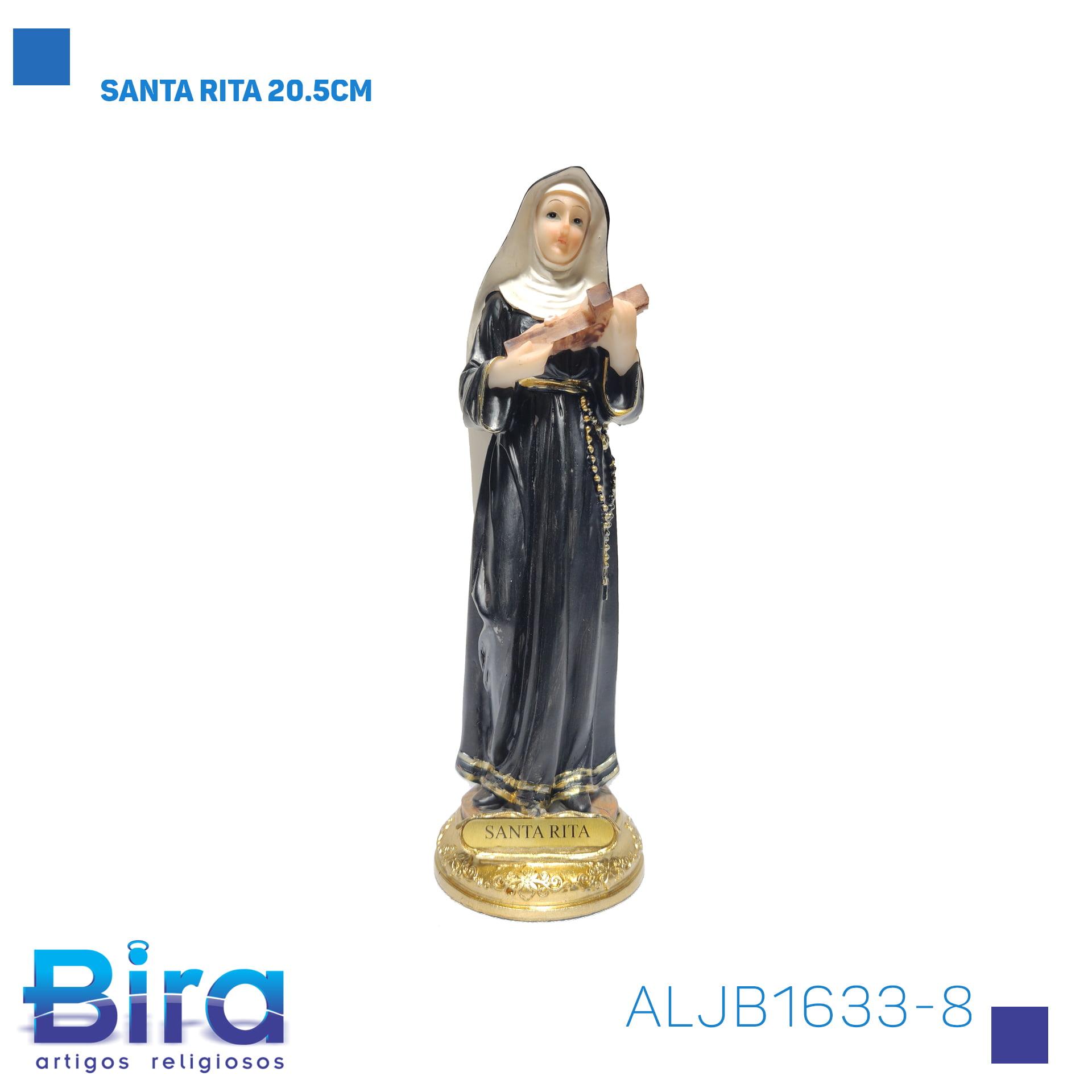 Bira Artigos Religiosos - SANTA RITA 20.5CM Cód. ALJB1633-8