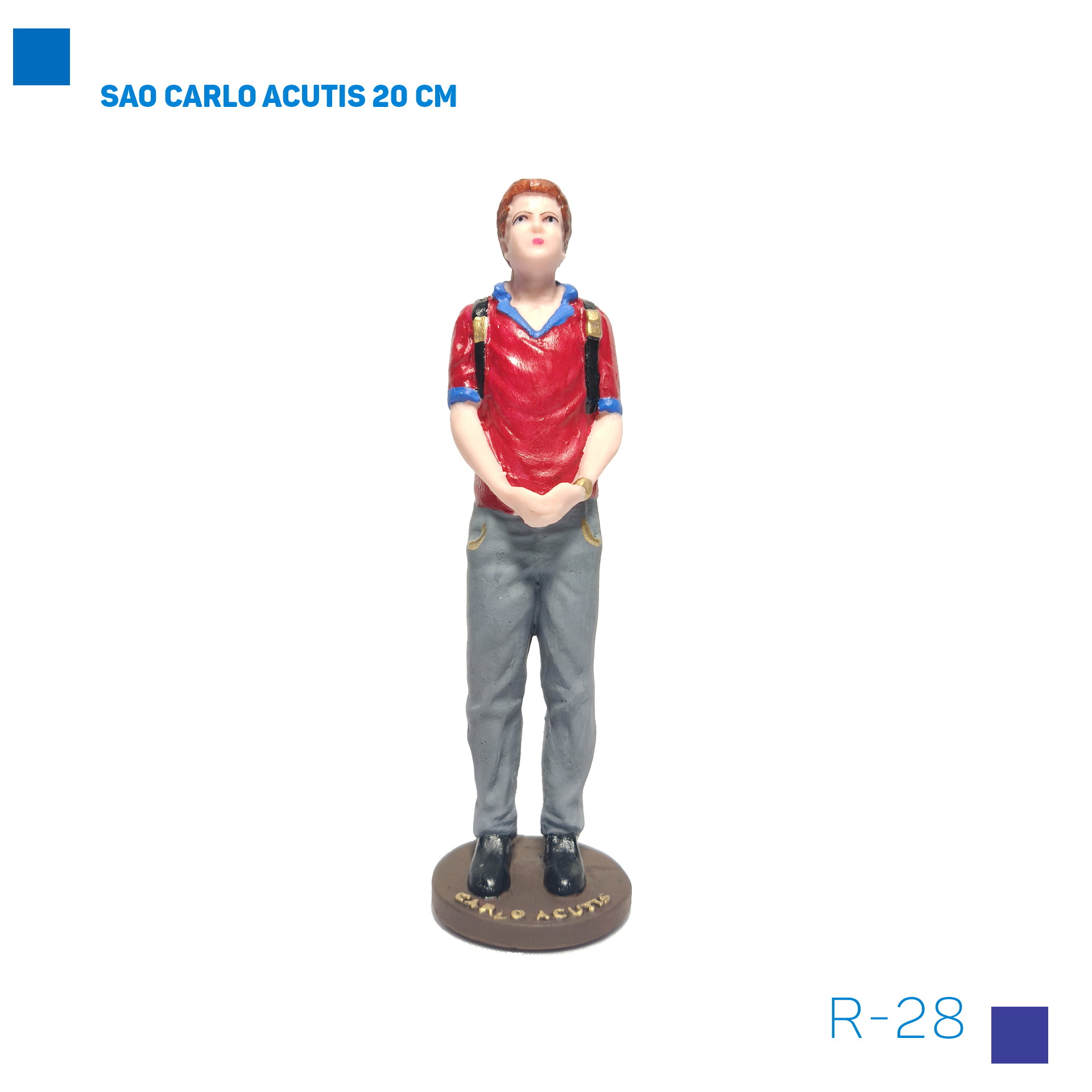 Bira Artigos Religiosos - SAO CARLO ACUTIS 20 CM Cod. R-29