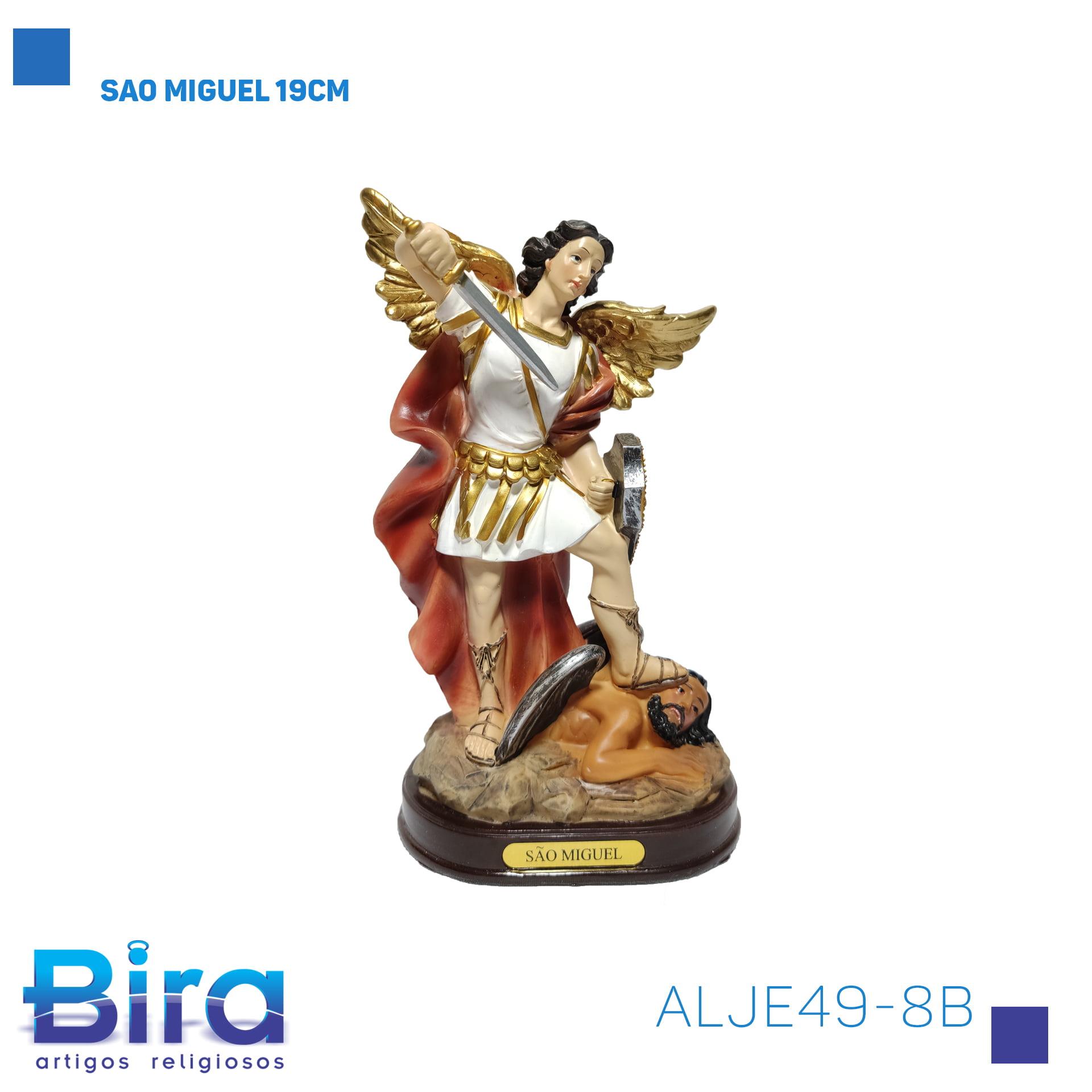 Bira Artigos Religiosos - SAO MIGUEL 19CM B86 Cód. ALJE49-8B