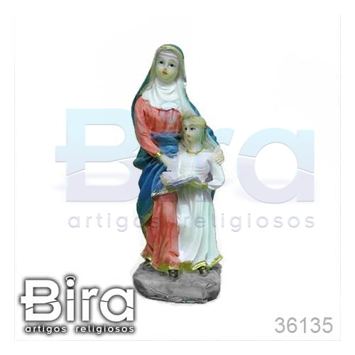 imagens, santos, resina, santa ana