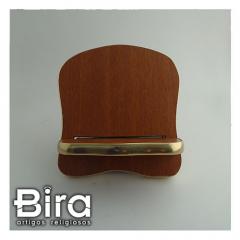 Porta Bíblia em Madeira - 15cm - Cód. PB-15CM