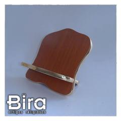 Porta Bíblia em Madeira - 30cm - Cód. PB-30CM