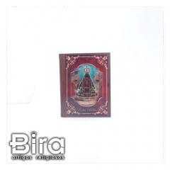 Porta Bíblia Estilo Caixa em Madeira - 16x21cm - Cód. GI-141