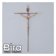 crucifixo redondo estilizado metal