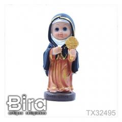 Santa Clara Infantil - 14cm - Cód. TX32495