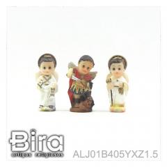 Trio Arcanjo Infantil - 4cm - Cód. ALJ01B405YXZ1.5