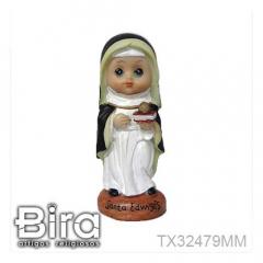 Santa Edwiges Infantil - 10cm - Cód. TX32479MM