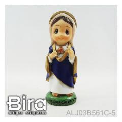 Sagrado Coração de Maria Infantil - 12cm - Cód. ALJ03B561C-5