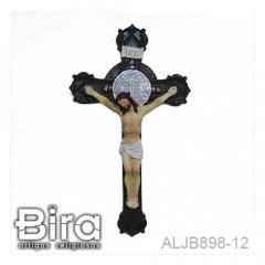 crucifixo sao bento resina
