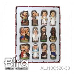 Kit Santo Infantis - 4cm - Cód. ALJ10C520-30
