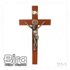 crucifixo, madeira, sao bento