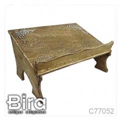 Porta Bíblia em Madeira - 19x34cm - Cód. C77052