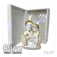 sagrada familia, gesso, santos, imagens