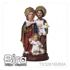 Sagrada Família - 10cm - Cód. TX32616MMA