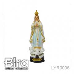 Imagem de Nossa Senhora de Fátima em Resina - 15cm - Cód. LYR0006