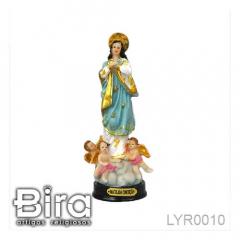 Imagem de Nossa Senhora da Conceição em Resina - 15cm - Cód. LYR0010