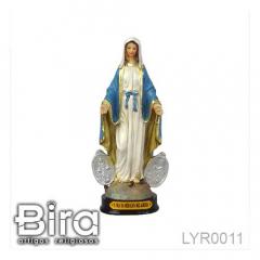 Imagem de Nossa da Medalha Milagrosa em Resina - 15cm - Cód. LYR0011