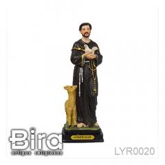 Imagem de Santo Francisco em Resina - 20cm - Cód. LYR0020