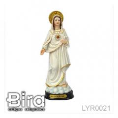 Imagem de Sagrado Coração de Maria em Resina - 20cm - Cód. LYR0021