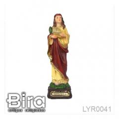 Imagem de Santa Cecília em Resina - 15cm - Cód. LYR0041