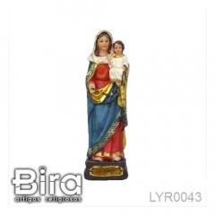 Imagem de Nossa Senhora do Rosário em Resina - 15cm - Cód. LYR0043