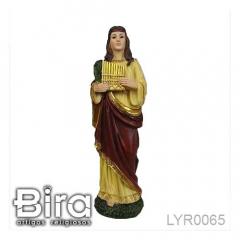 Imagem de Santa Cecília em Resina - 30cm - Cód. LYR0065